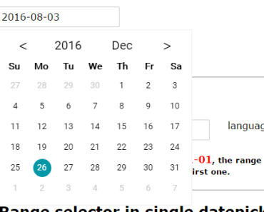 Pretty Simple Vue.js Date Picker