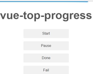 vue-js-top-progress-bar-component