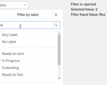 Simple Filter Component For Vue.js