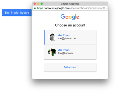 Vue.js Plugin For Google Sign-in Button
