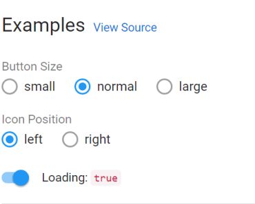Keen-UI Buttons