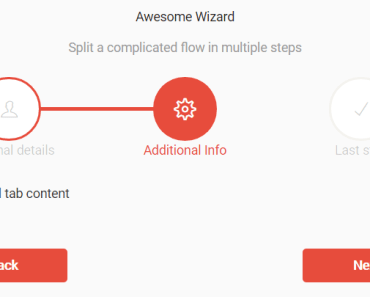 Dynamic Form Wizard For Vue.js