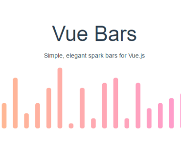 Simple Elegant Spark Bars For Vue.js