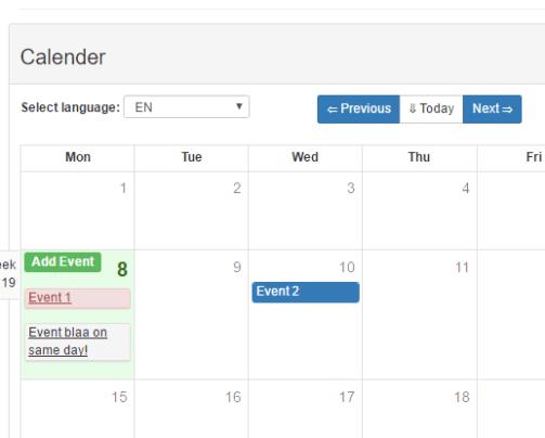 Multiple Date Picker Component For Vue js - Vue js Script