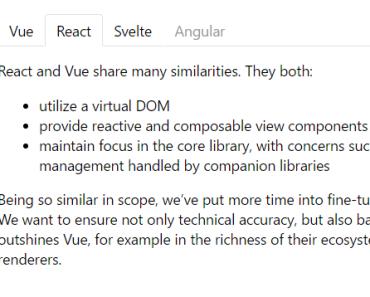 Slim Tab Component For Vue.js