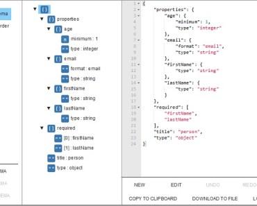 Schema-aware Editor For JSON Document
