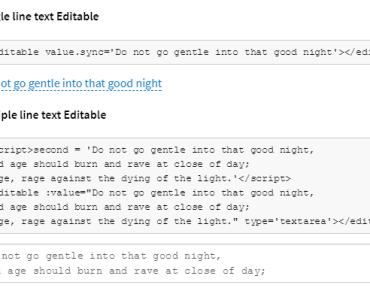 Better Editable Component In Vue.js 2
