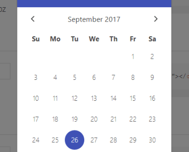 Mobile-friendly Datetime Picker For Vue