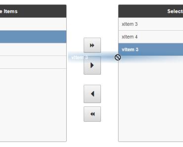 Simple List Picker Vue.js Component