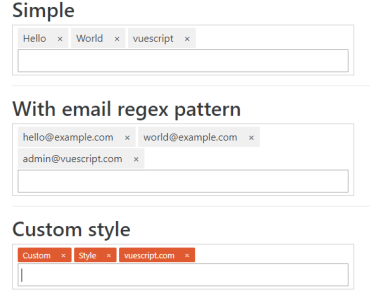 Simple Tag Management For Vue.js