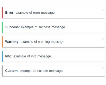 Simple Notify Handler For Vue.js