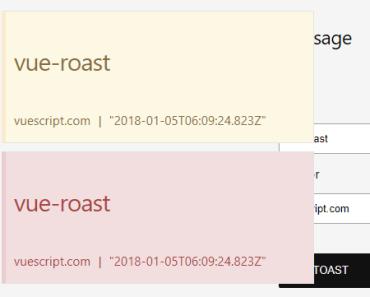 vue-roast