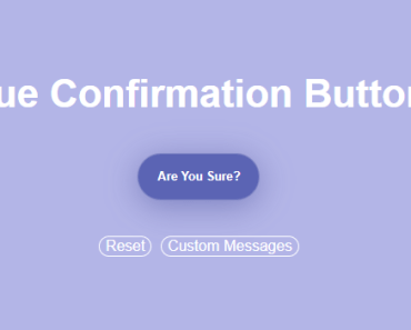 Easy Confirmation Button For Vue.js App