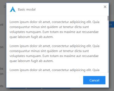 Universal Modal Component For Vue.js