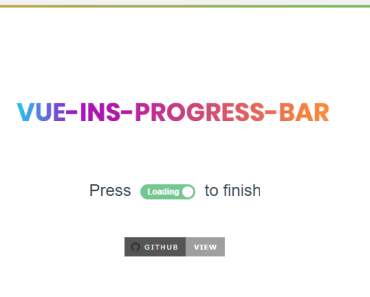 Instagram Progress Bar For Vue.js-min