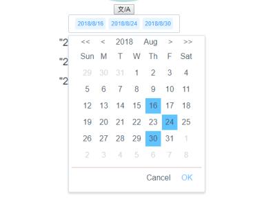 Jalali Date Picker Component For Vue - Vue js Script