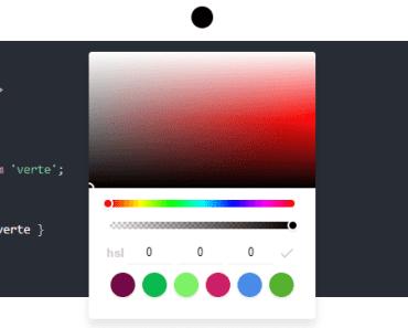 A Complete Vue.js Color Picker Component - Verte