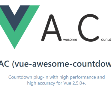 High Performance Countdown Plugin For Vue.js