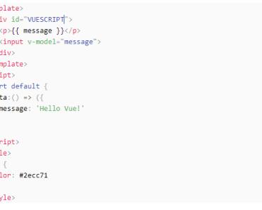Vue Prism Code Editor