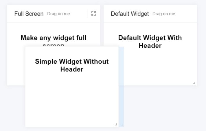 Flexible Card Component For Vue - smart-widget - Vue js Script