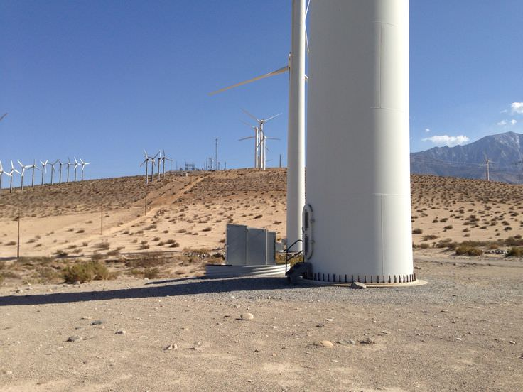 Trip to Huge Forest of Giant Wind Turbines-12