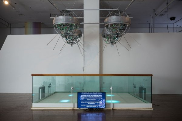 Installation view at SeMA Biennale Mediacity Seoul 2016, Image courtesy of Seoul Museum of Art