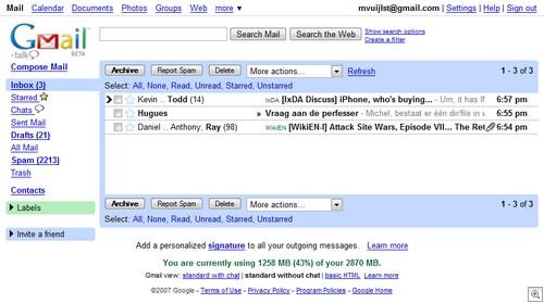 Gmailbijnaleeg