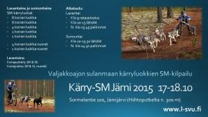 Kärry-SM Jämi 2015 mainos