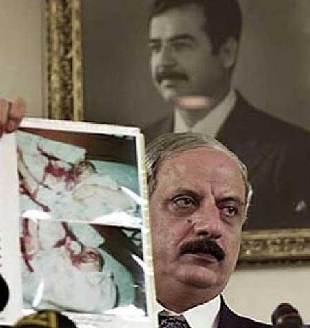Taher Jalil Habbush Announces of Nidal 'Suicide'
