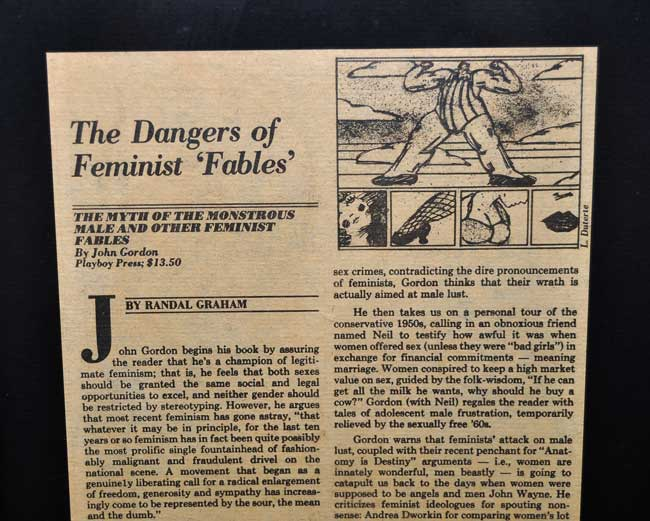 The Dangers of Feminist 'Fables'