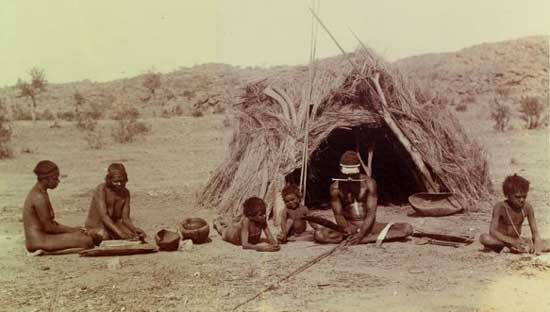Photo of Aboriginal Family, Baldwin Spencer