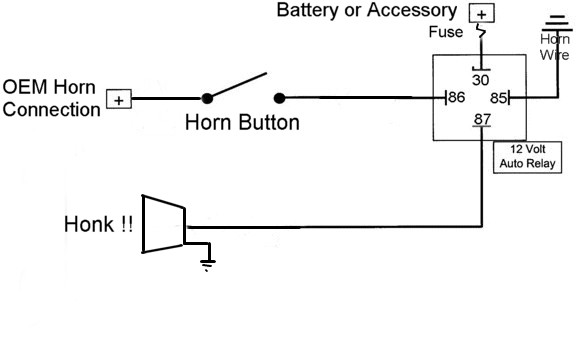 wiring diagrams air horn relays - wiring diagram, Wiring diagram