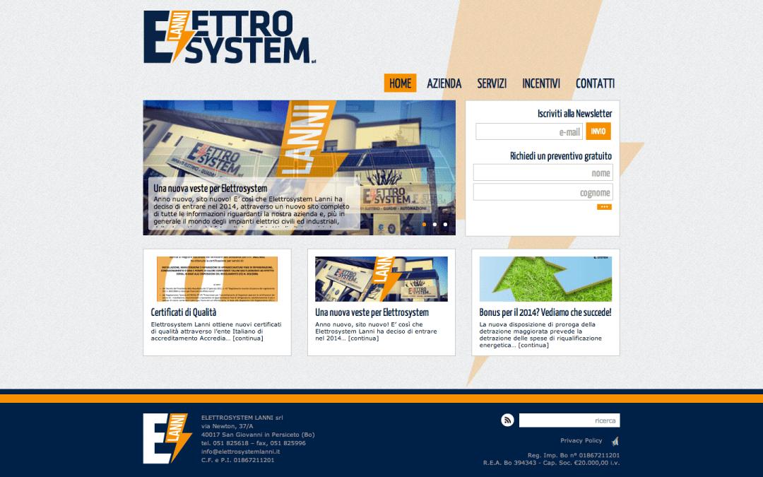 ElettroSystem, online il nuovo sito