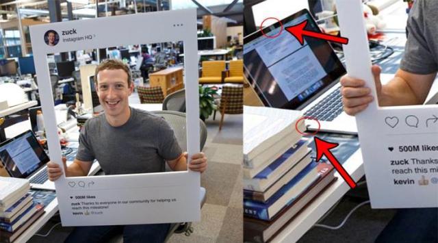 La foto di Mark Zuckerberg per celebrare i 500 milini di utenti mensili di Instagram svela dettagli interessanti sulla ricerca di privacy del numero 1 di Facebook Facebook/Mark Zuckerberg/IBTimes Italia