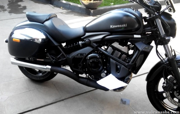 Kawasaki Vulcan S Exhaust Modification