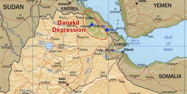 Afar Africa Triangle