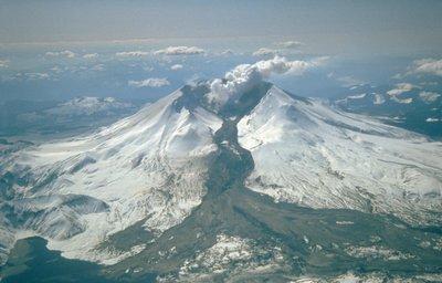 lahar, Mount St. Helens 18 mei 1980