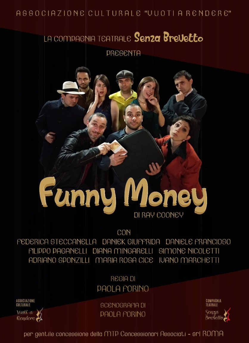 locandina verticale di Funny Money