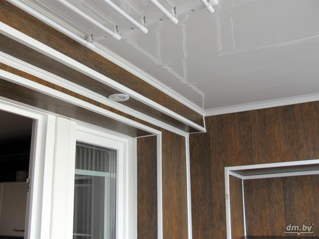 Metoden til at dække altanen med mdf-paneler