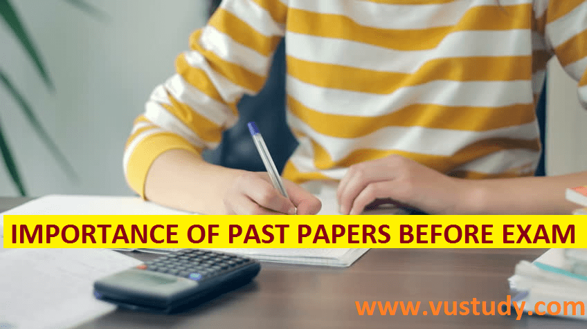 Importance of past papers before Exam