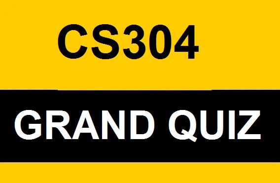 cs304 grand quiz