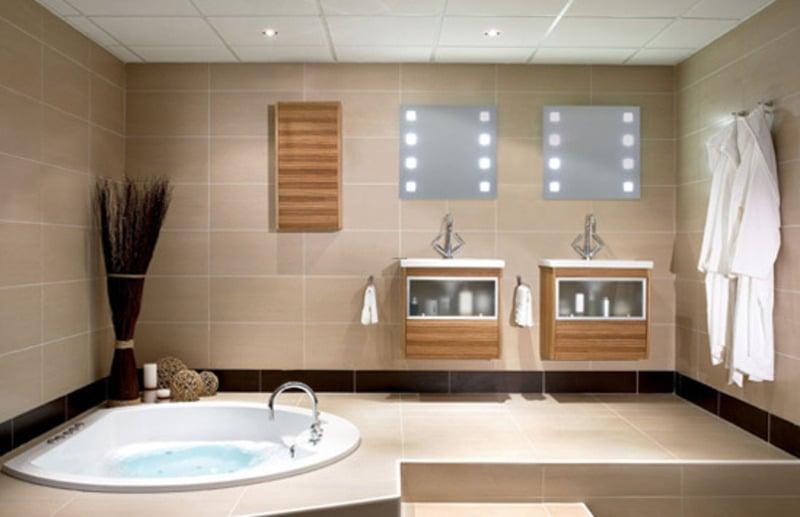 amenager la salle de bain comme un spa