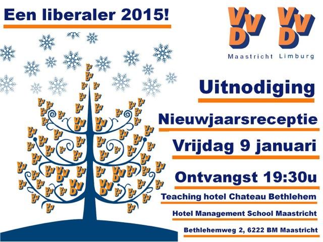Uitnodiging Nieuwjaarsbijeenkomst 2015
