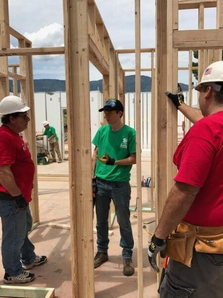 Wells Fargo Builds With Verde Valley Habitat