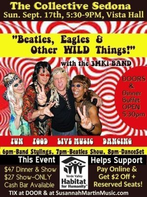 Beatles, Eagles & Other WILD Things! Have fun while supporting an important local mission