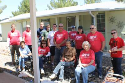 Verde Serves Day - Helping our community