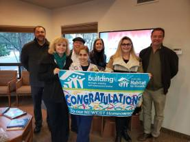 Verde Valley Habitat announces another Sedona homeowner!