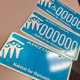 Arizona's Affordable Homeownership Specialty Plate