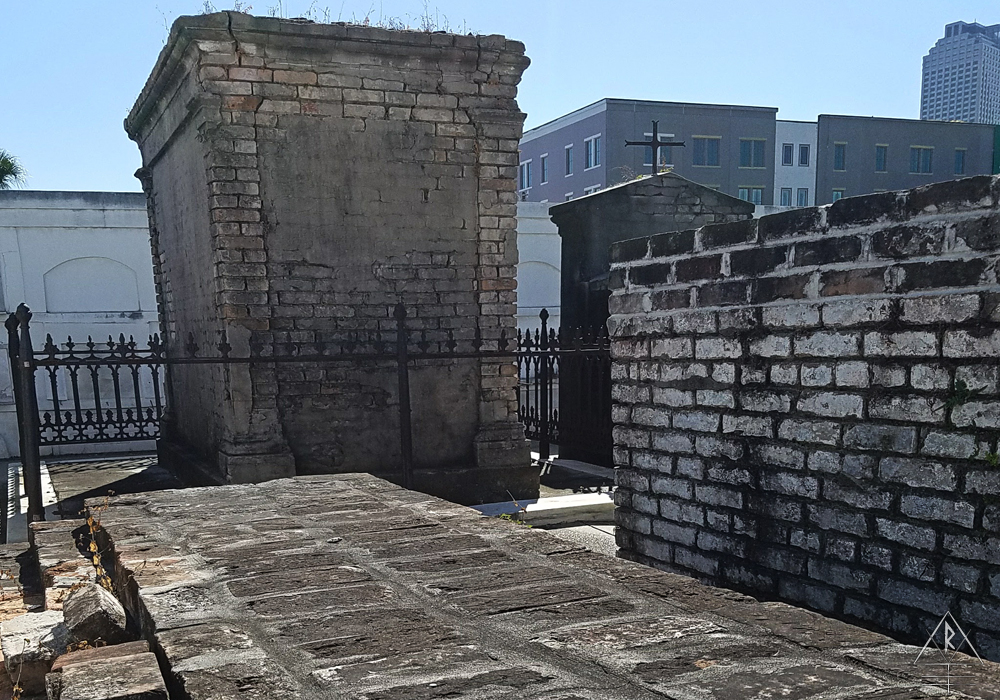 St. Louis Cemetery No. 1, 1539 Jackson Ave, Suite 415, New Orleans, LA 70130.
