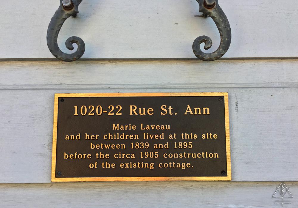 1020-22 Rue St. Anne Marie Laveau House, New Orleans, Louisiana